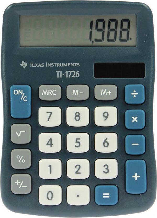 5x Texas bureaurekenmachine TI-1726