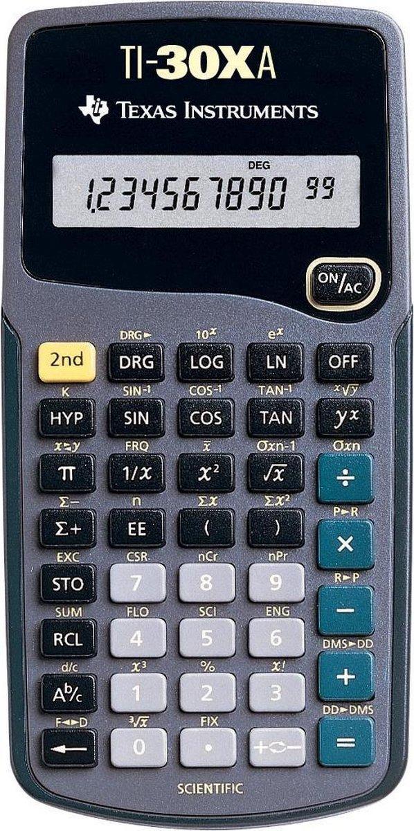 5x Texas wetenschappelijke rekenmachine TI-30XA