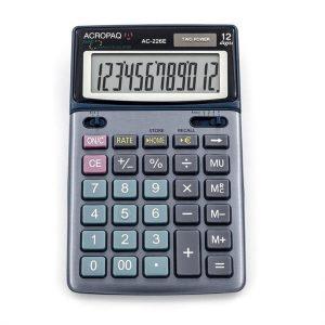 ACROPAQ AC226E - Buro rekenmachine Euro Medium size