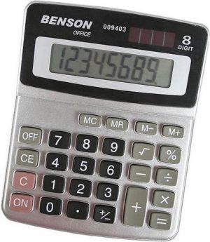 Basic bureau rekenmachine voor kantoor of school - calculator