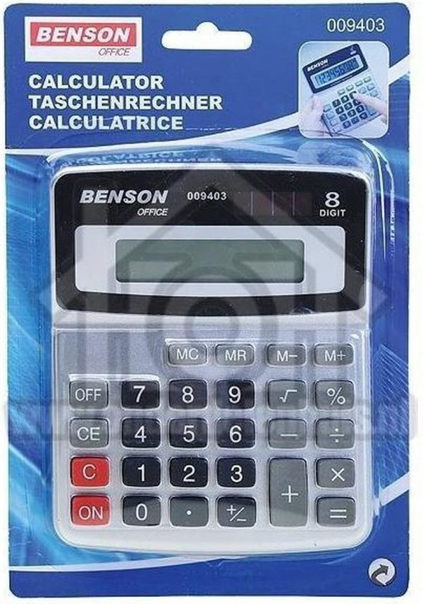 Benson Office Rekenmachine 009403