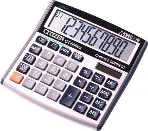 Calculator Citizen desktop Business Line, zwart. CI-CT500VII