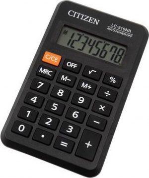 Calculator pocket Citizen Business Line zwart CI-LC310NR