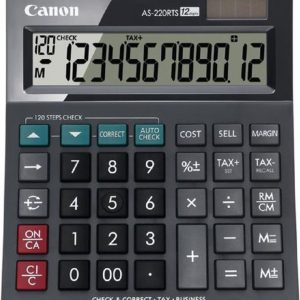 Canon AS-220RTS - Bureaurekenmachine