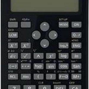 Canon F-718SGA calculator Desktop Wetenschappelijke rekenmachine Zwart
