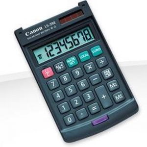 Canon LS-39E calculator Pocket Basisrekenmachine Grijs