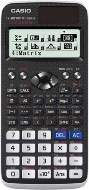 Casio fx-991SP X II calculator Pocket Wetenschappelijke rekenmachine Zwart