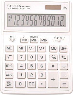 Citizen CI-SDC444XRWHE | Desktop Calculator | Business Line | Wit