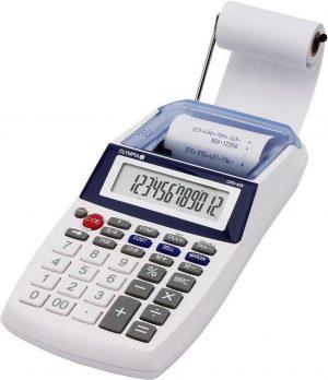 Olympia CPD 425 Desktop Rekenmachine met printer Wit calculator