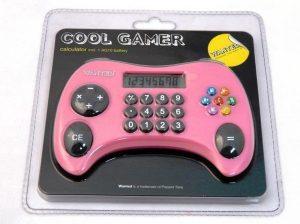 Rekenmachine - cool gamer - Roze