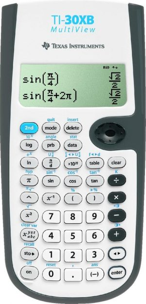 Texas Instruments TI-30XB Multiview - Wetenschappelijke rekenmachine