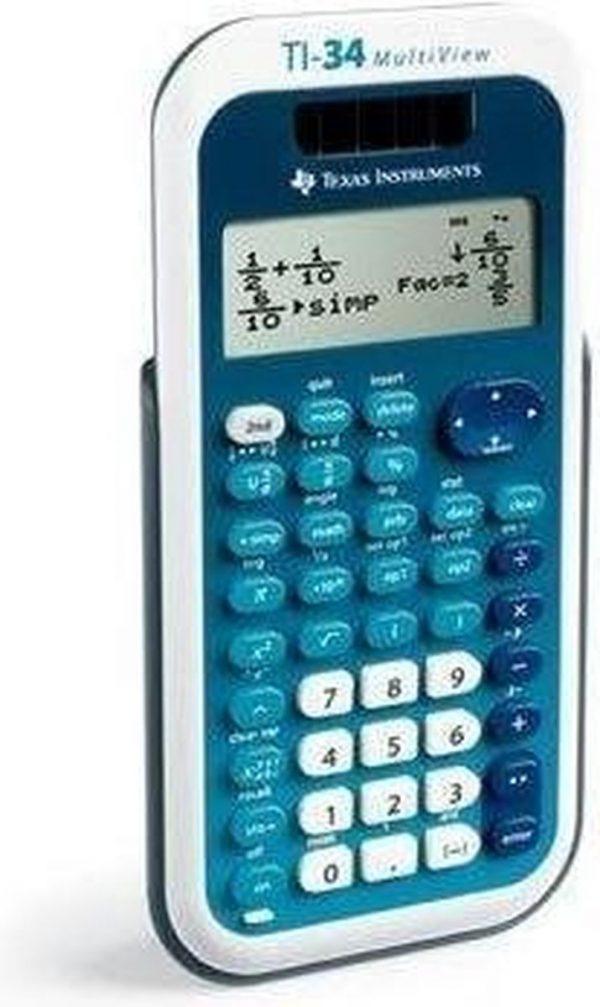 Texas Instruments TI-34 MultiView wetenschappelijke rekenmachine
