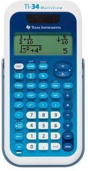 Texas Instruments TI34 Multiview - Wetenschappelijke rekenmachine