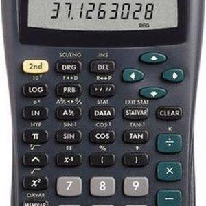 Texas Instruments Ti-30 X Iib Schoolrekenmachine Werkt Op Batterijen Zilver Aantal Displayposities: 11