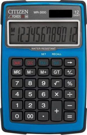 WR3000-BL - Outdoor Desktop Calculator