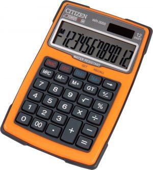 WR3000-OR - Outdoor Desktop Calculator | Waterdicht | Oranje