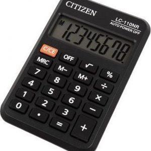Calculator pocket Citizen Business Line zwart CI-LC110NR
