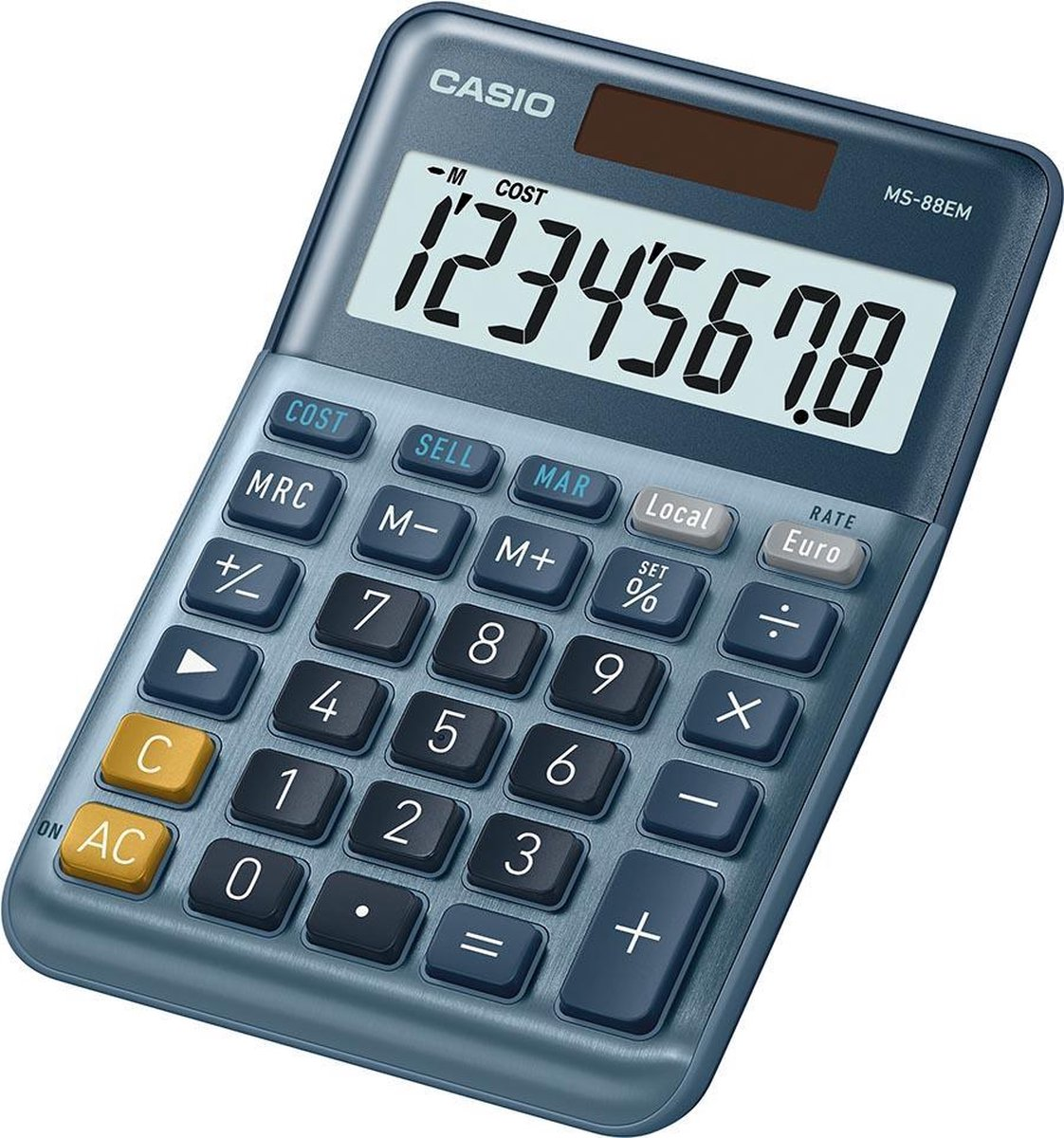Rekenmachine Casio Bureaurekenmachine MS-88EM