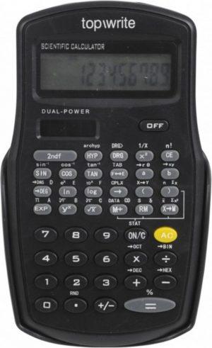 Top Write Scientific calculator,dual power. Wetenschappelijke Rekenmachine.