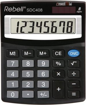 Rebell SDC408 Rekenmachine